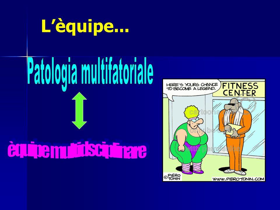 L'èquipe... Patologia multifatoriale èquipe multidsciplinare