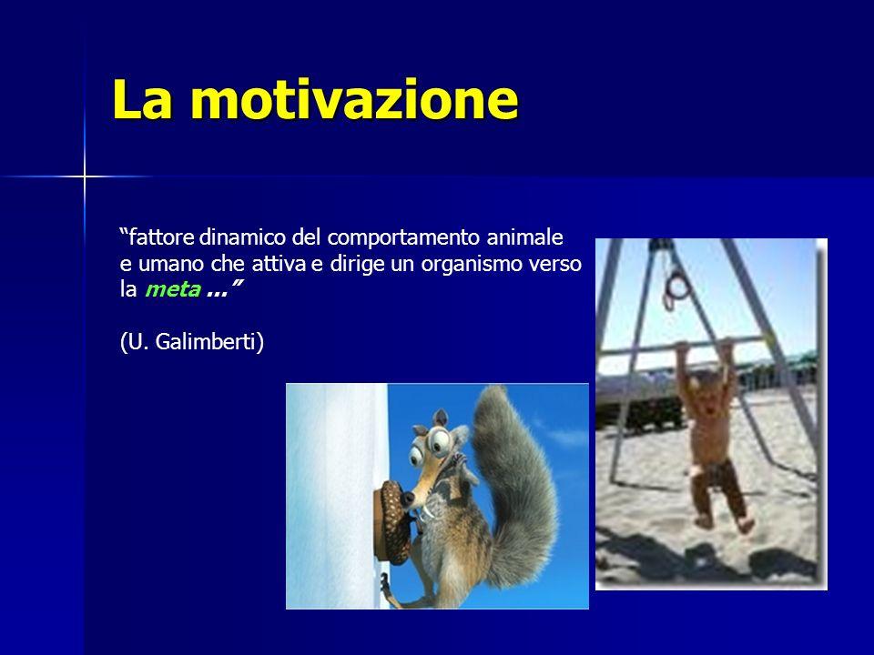 La motivazione fattore dinamico del comportamento animale