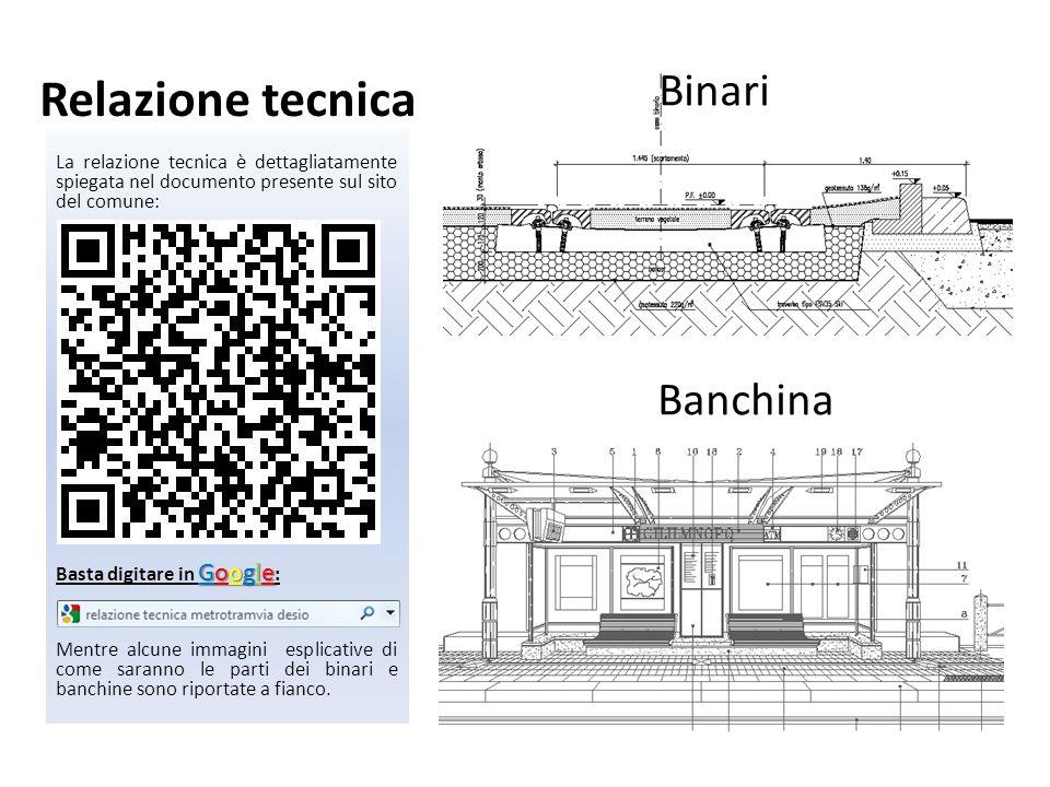 Relazione tecnica Binari Banchina