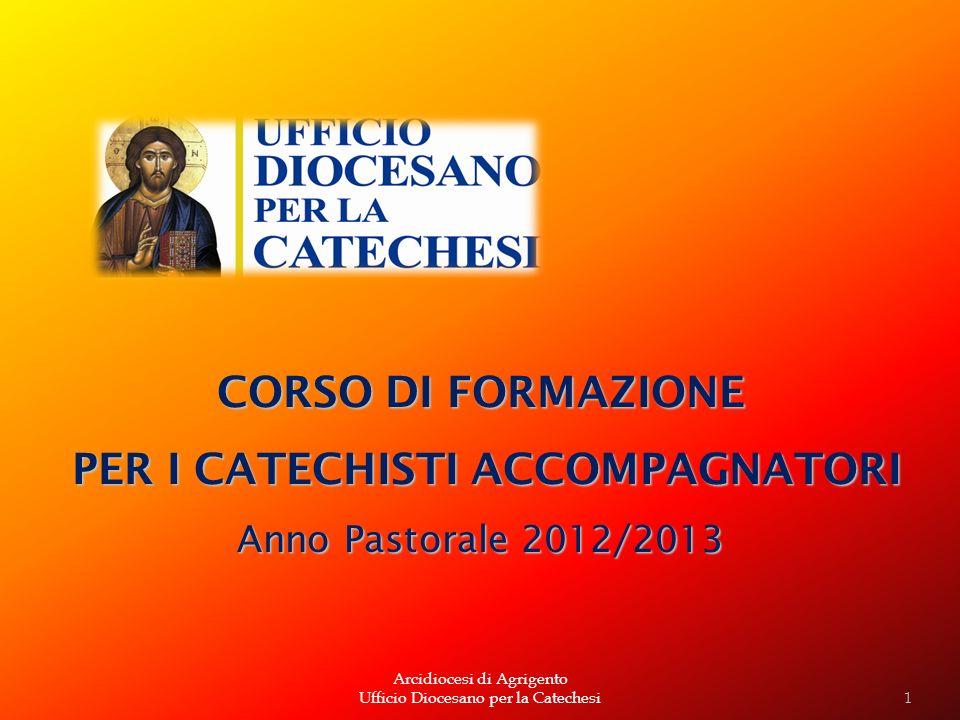 PER I CATECHISTI ACCOMPAGNATORI