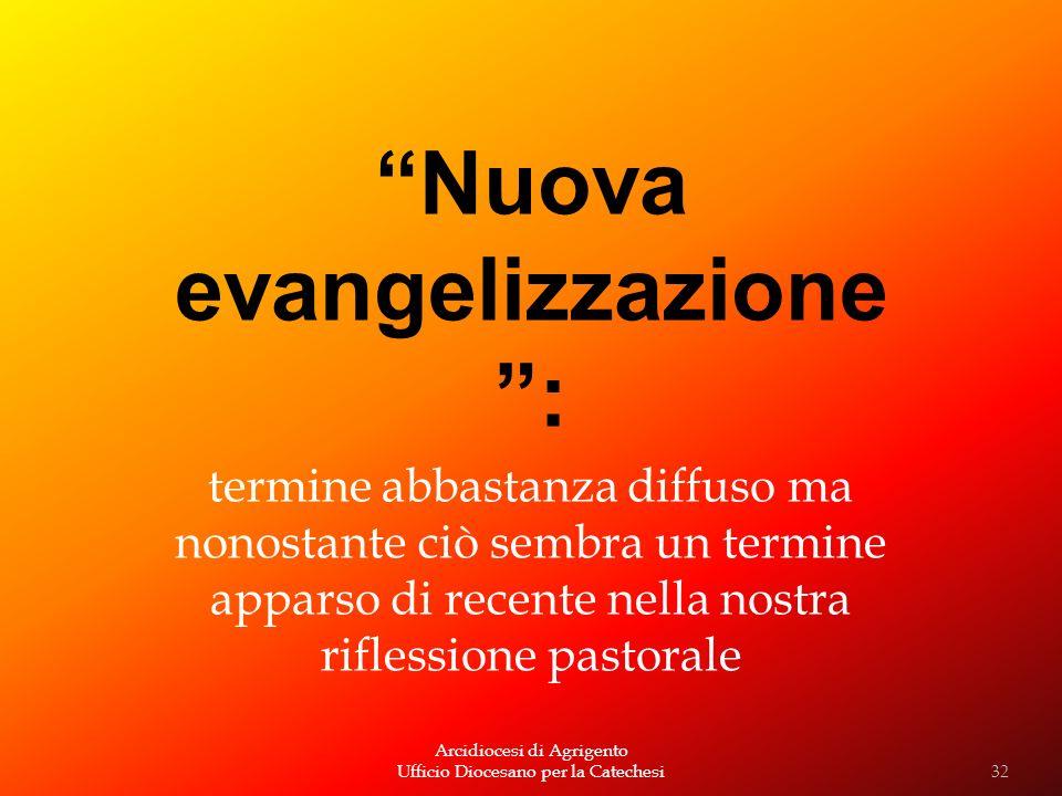 Nuova evangelizzazione :