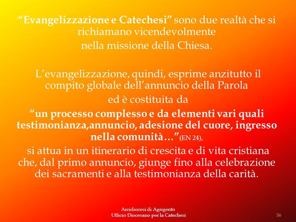 nella missione della Chiesa.
