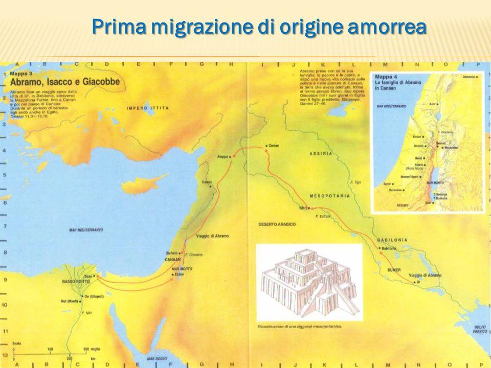 Prima migrazione di origine amorrea