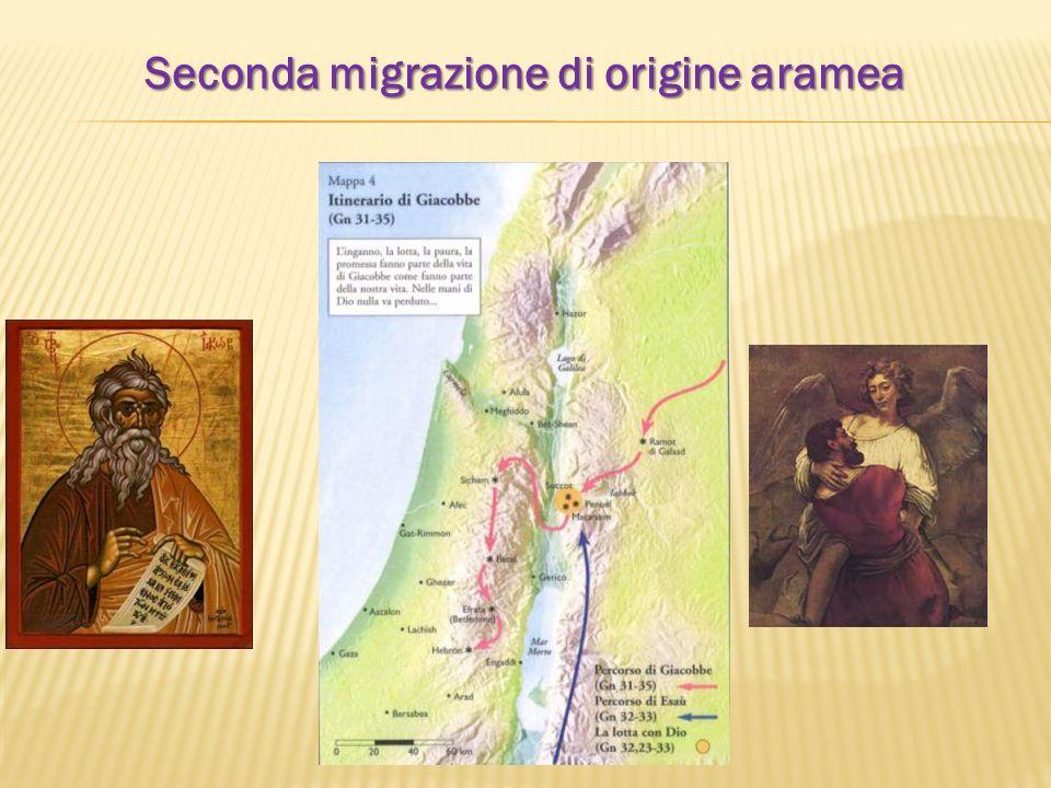Seconda migrazione di origine aramea