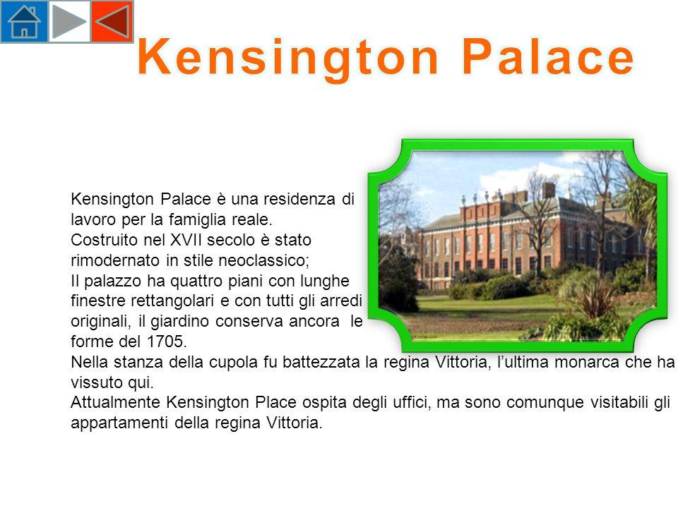 Kensington Palace Kensington Palace è una residenza di