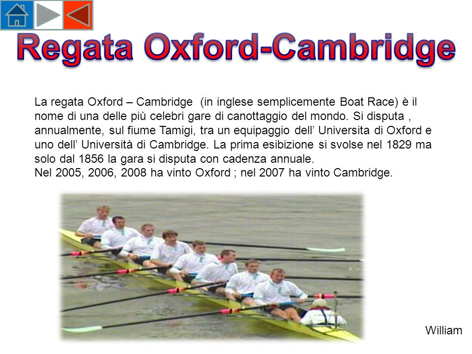 Regata Oxford-Cambridge