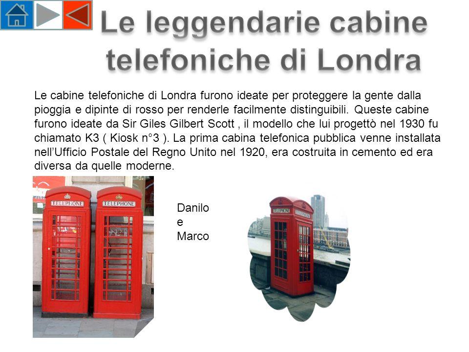 Le leggendarie cabine telefoniche di Londra