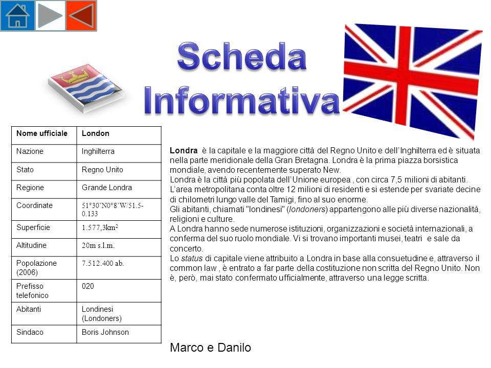 Scheda Informativa Marco e Danilo