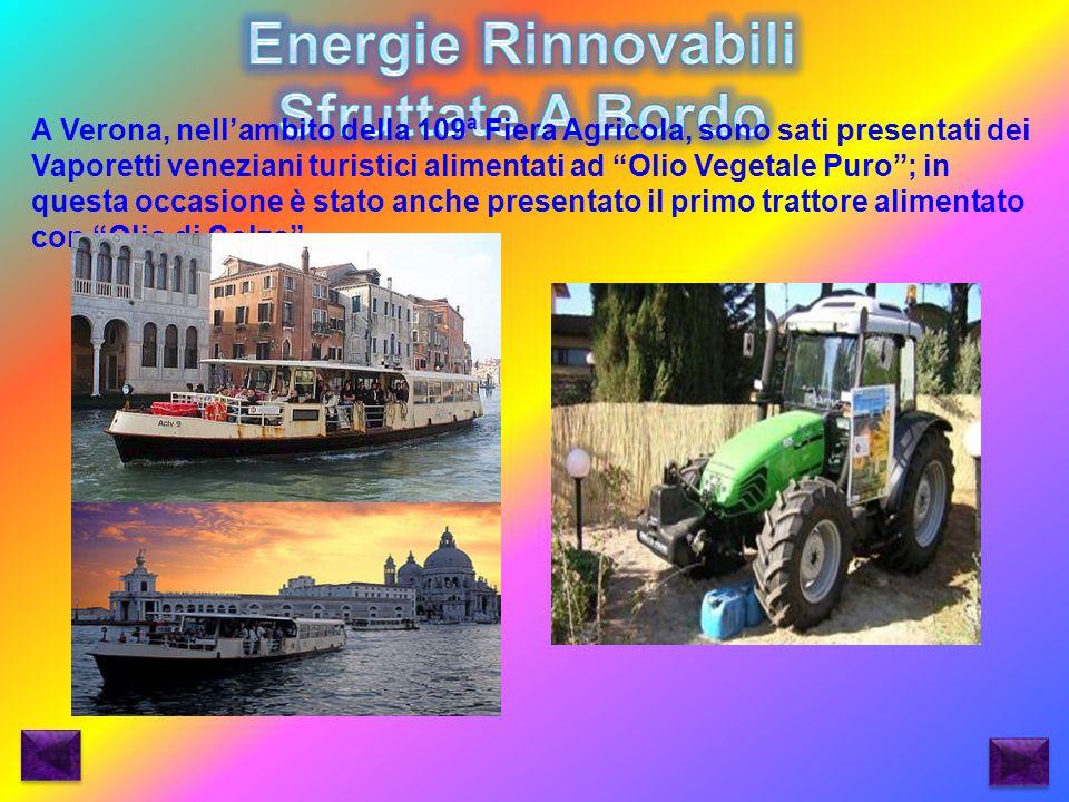 Energie Rinnovabili Sfruttate A Bordo