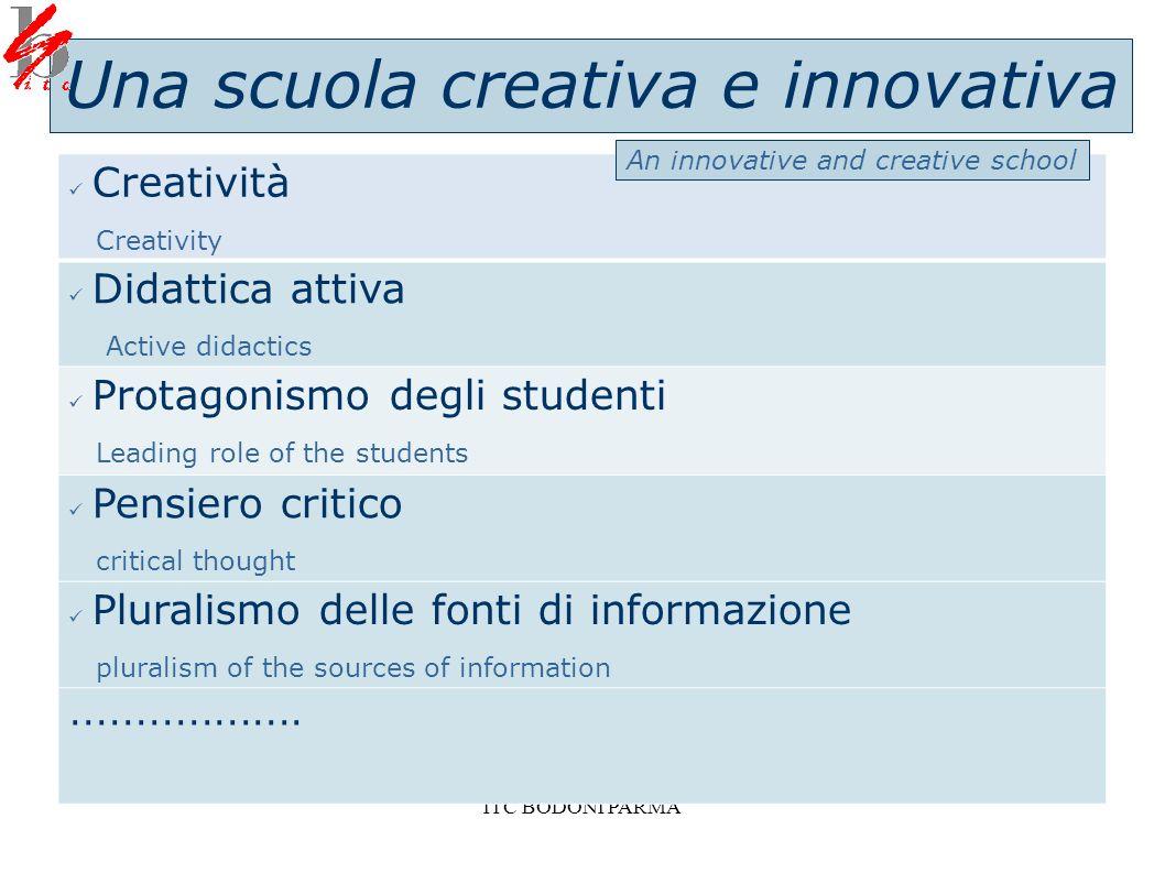 Una scuola creativa e innovativa