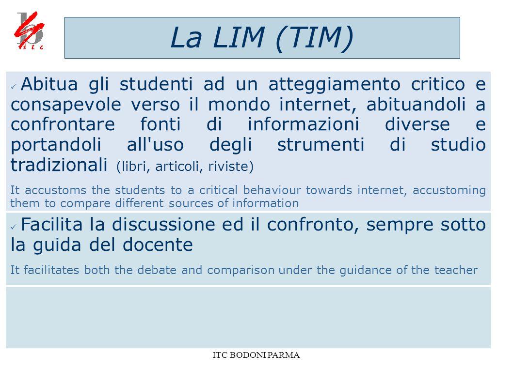 La LIM (TIM)