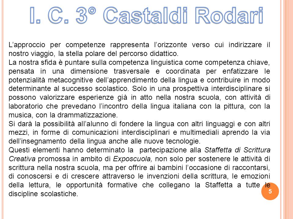 I. C. 3° Castaldi Rodari