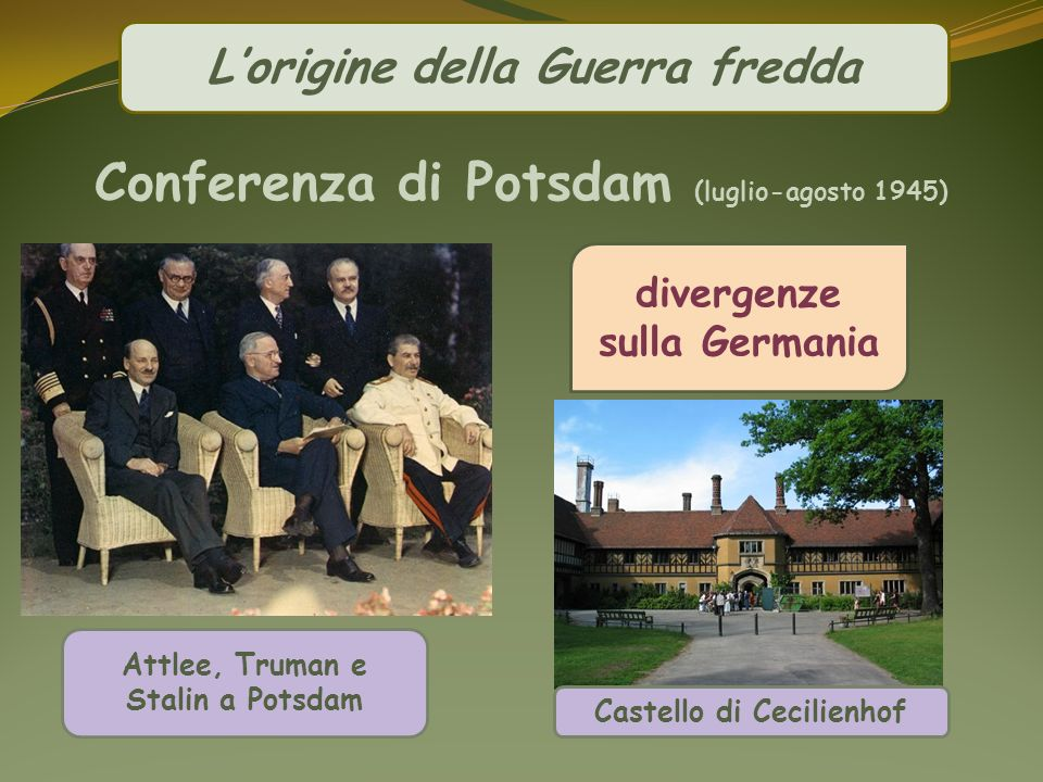 Conferenza di Potsdam (luglio-agosto 1945)