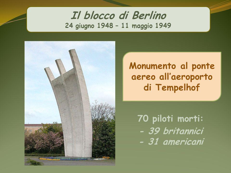 Monumento al ponte aereo all'aeroporto di Tempelhof
