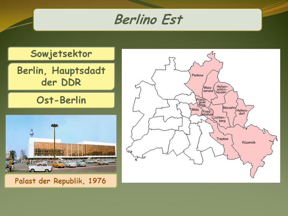 Berlin, Hauptsdadt der DDR