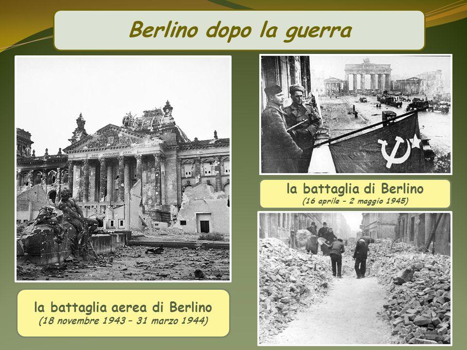 la battaglia di Berlino la battaglia aerea di Berlino