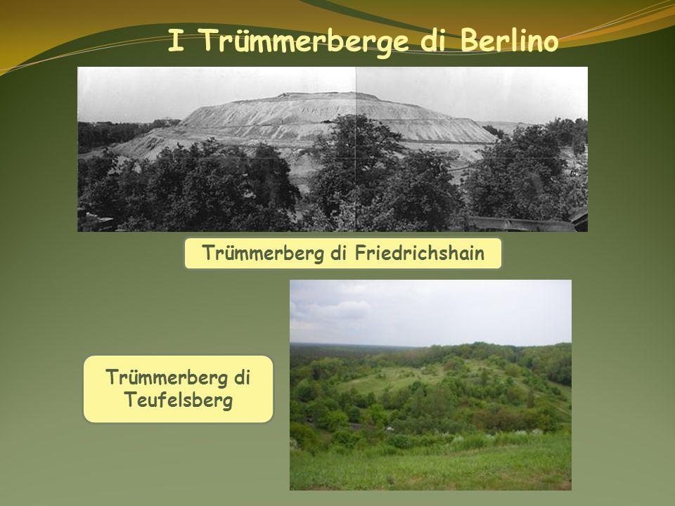 I Trümmerberge di Berlino