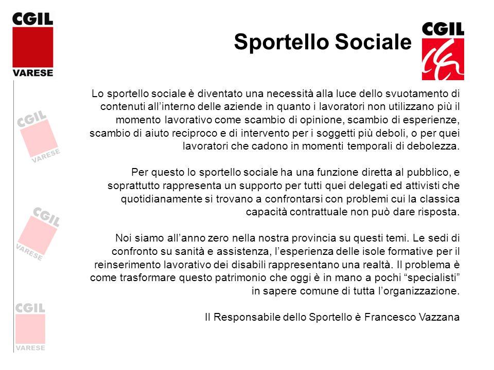 Sportello Sociale