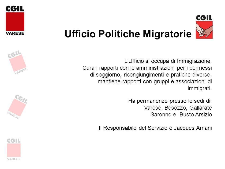 Ufficio Politiche Migratorie