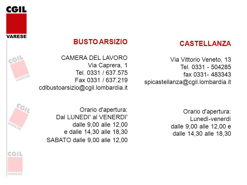 BUSTO ARSIZIO CASTELLANZA
