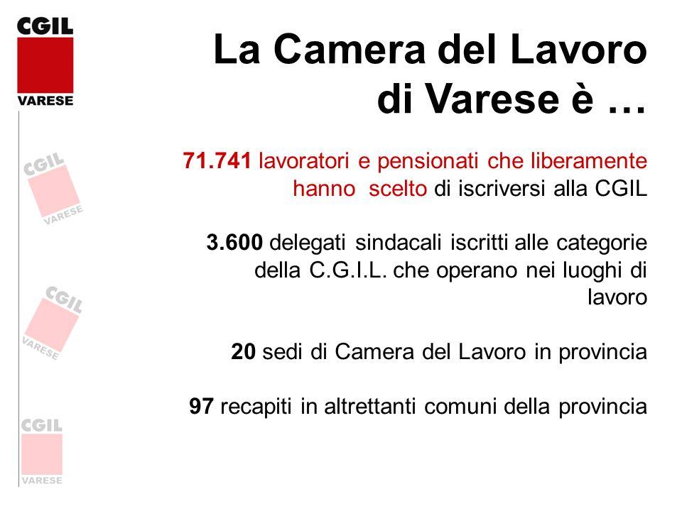 La Camera del Lavoro di Varese è …