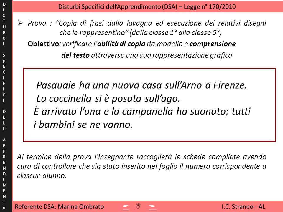 Pasquale ha una nuova casa sull'Arno a Firenze.