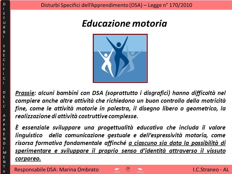 Movimentocome controllo, affinamento e. specializzazione delle abilità. Corporeità. come sviluppo delle capacità.