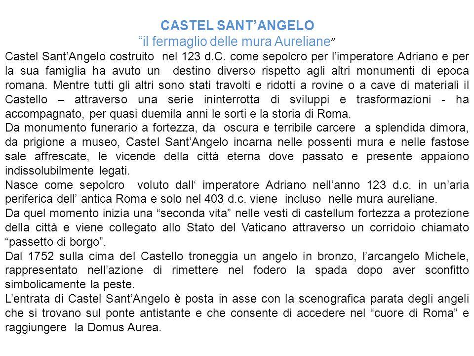 il fermaglio delle mura Aureliane