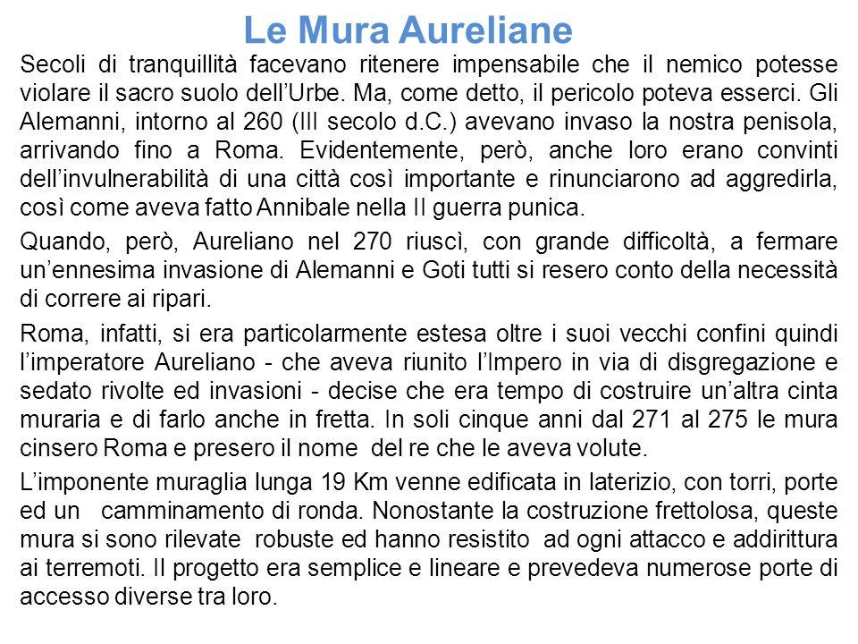 Le Mura Aureliane
