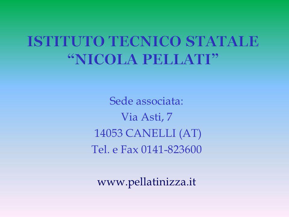 ISTITUTO TECNICO STATALE NICOLA PELLATI
