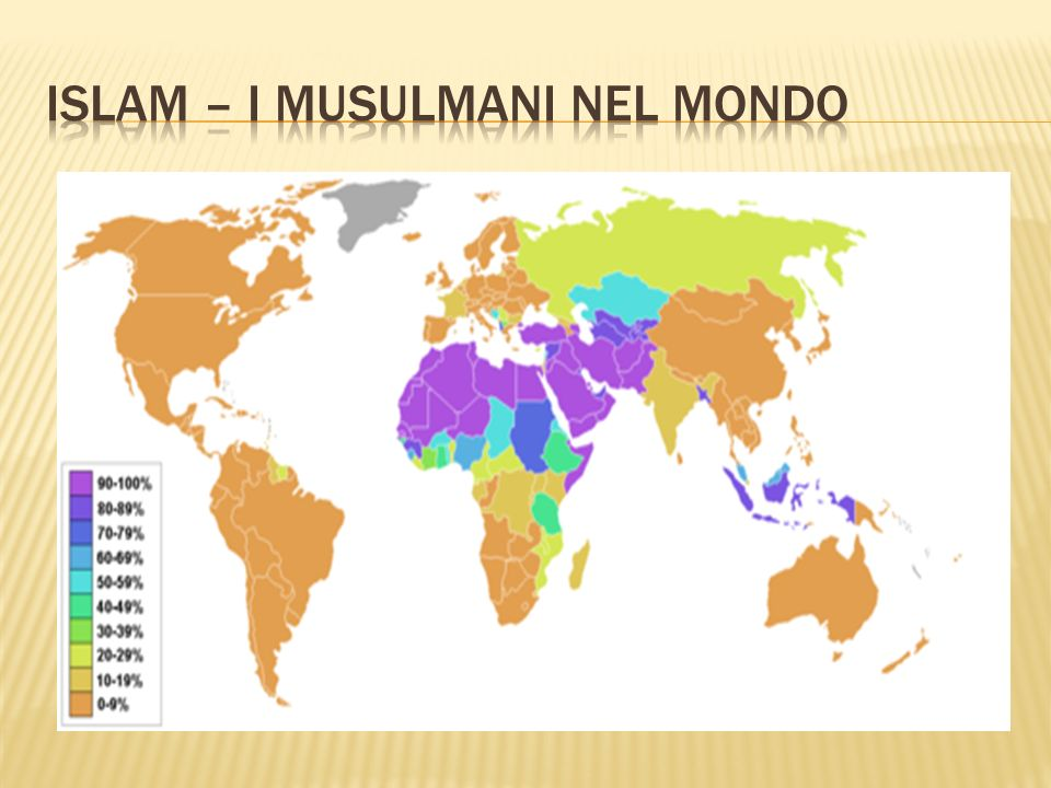 Islam – i musulmani nel mondo