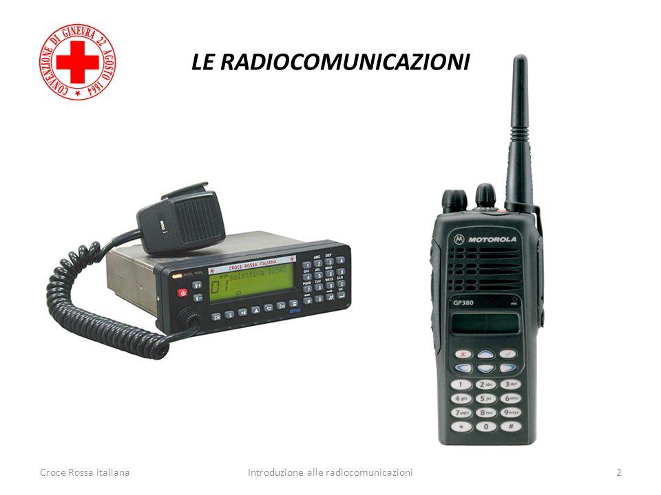 LE RADIOCOMUNICAZIONI