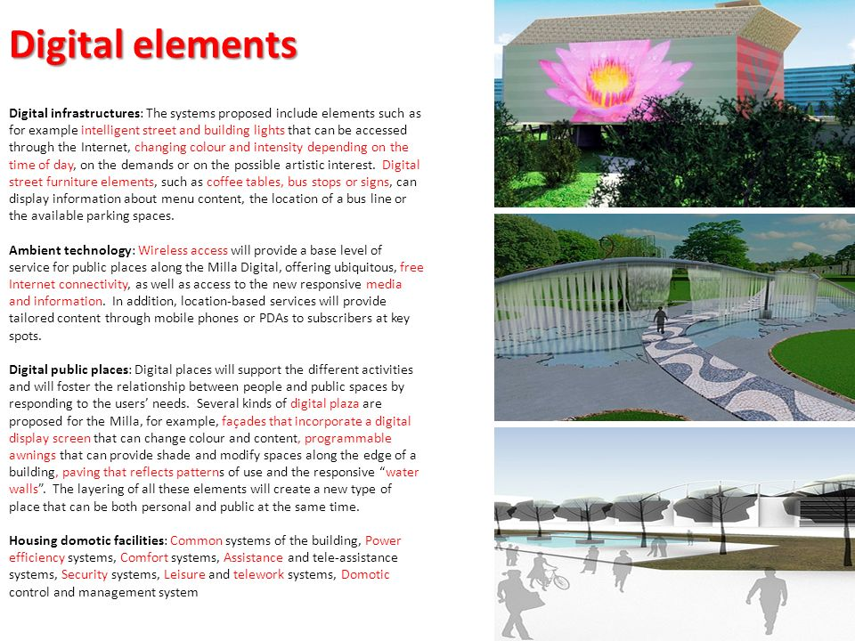 Digital elements