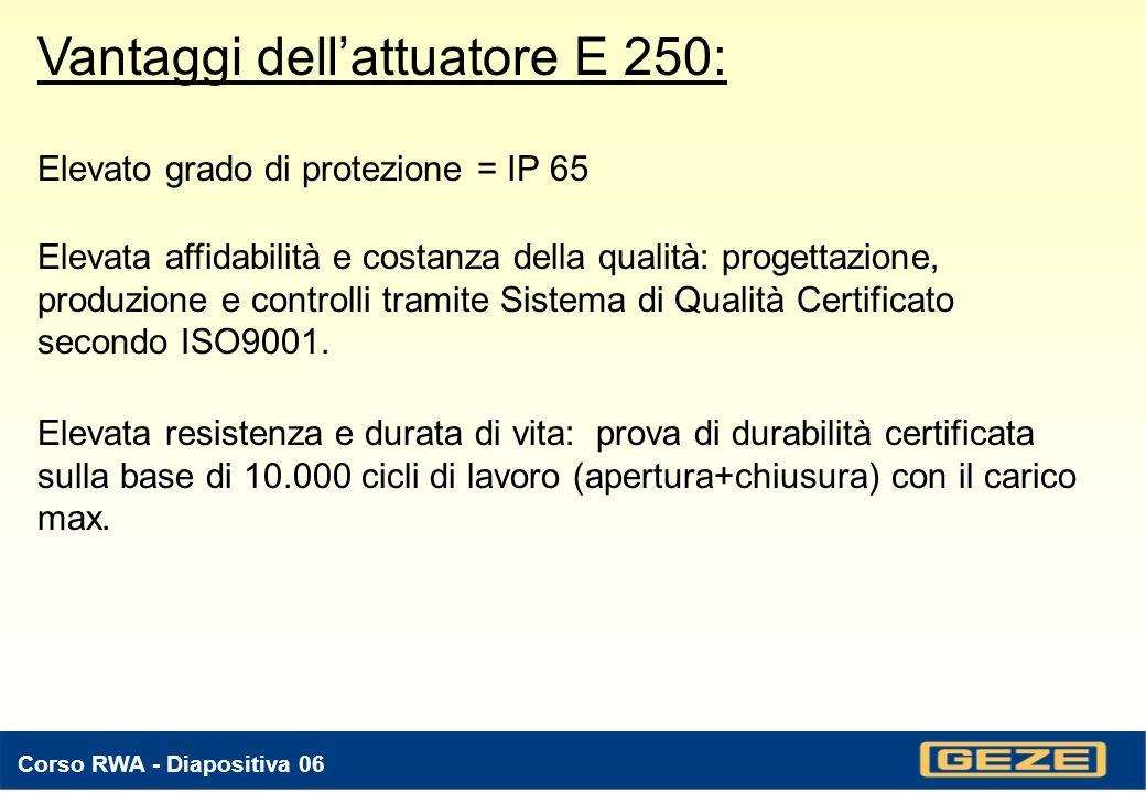 Elevato grado di protezione = IP 65