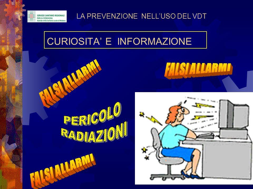 CURIOSITA' E INFORMAZIONE