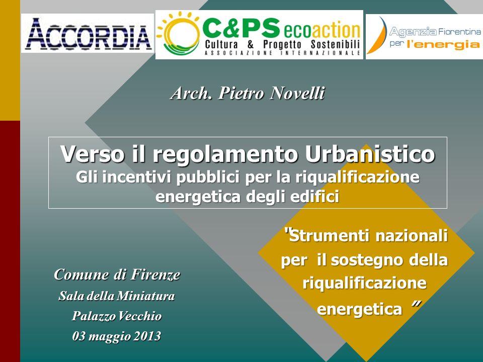 Verso il regolamento Urbanistico