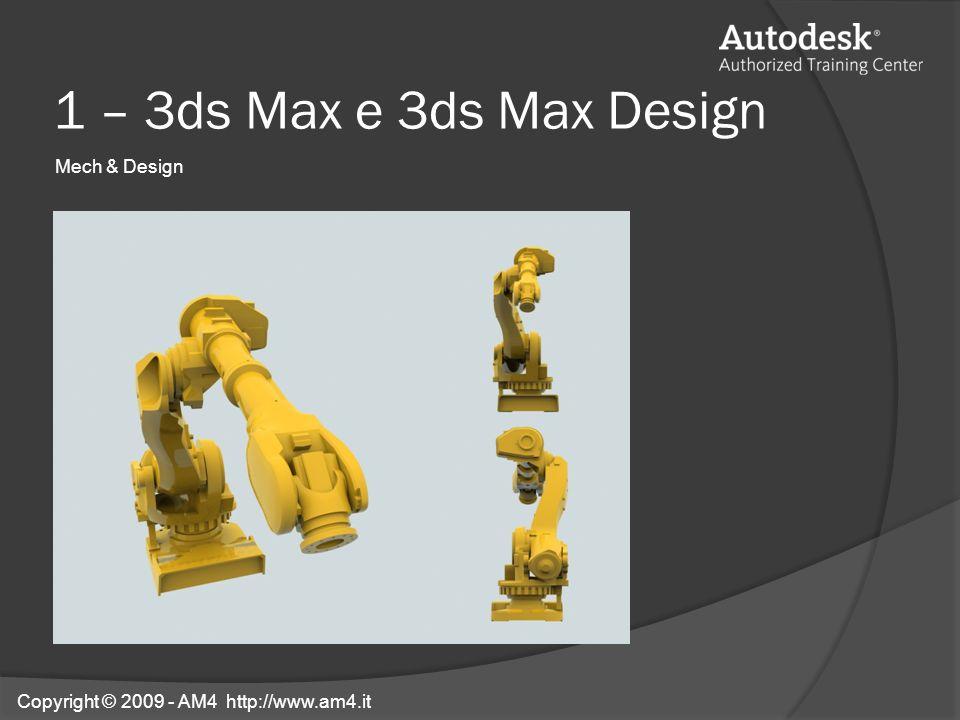 1 – 3ds Max e 3ds Max Design Mech & Design