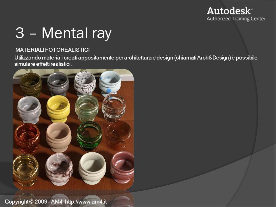 3 – Mental ray