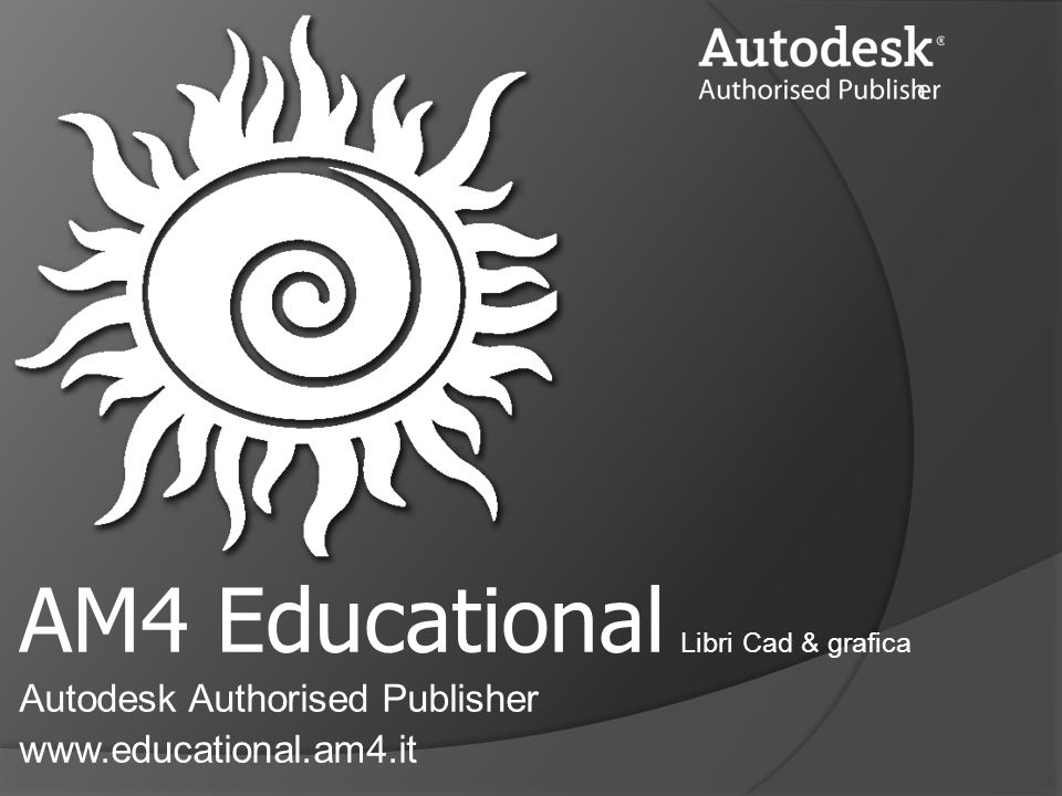 AM4 Educational Libri Cad & grafica