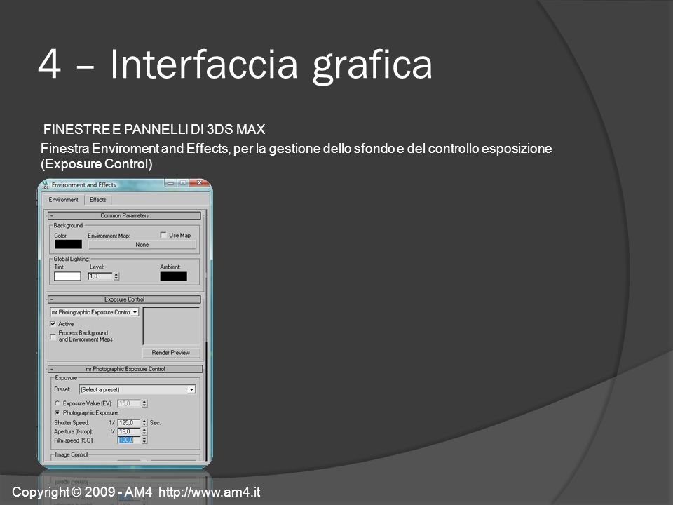 4 – Interfaccia grafica
