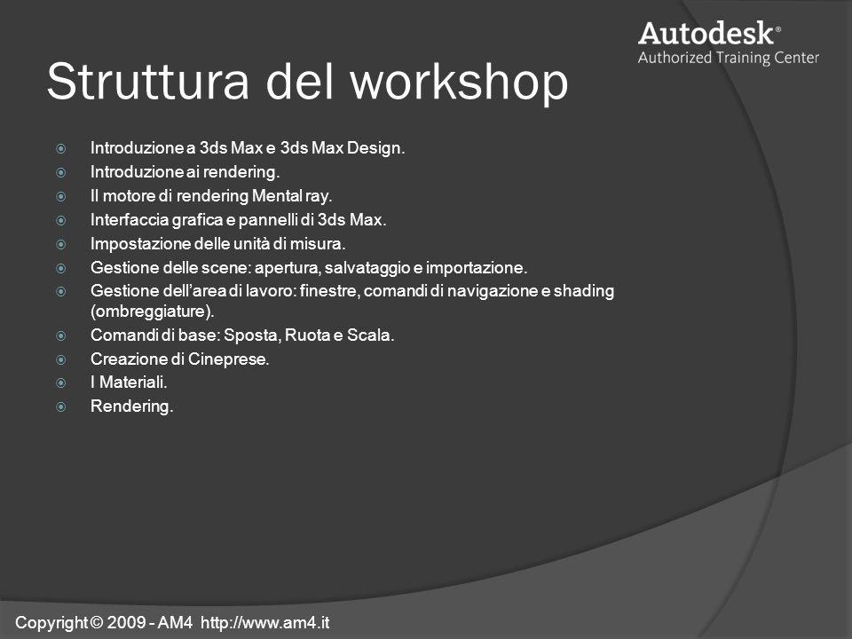 Struttura del workshop