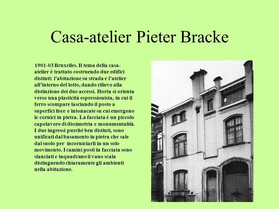 Casa-atelier Pieter Bracke