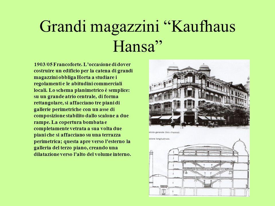 Grandi magazzini Kaufhaus Hansa