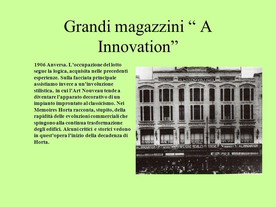 Grandi magazzini A Innovation