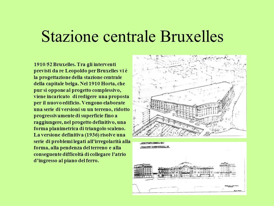 Stazione centrale Bruxelles