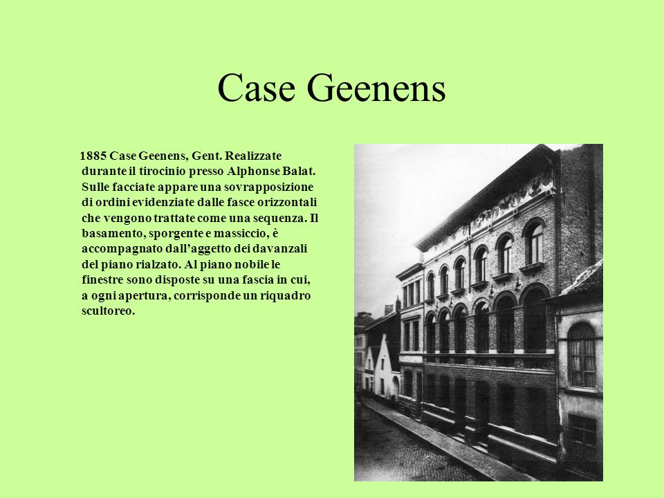 Case Geenens