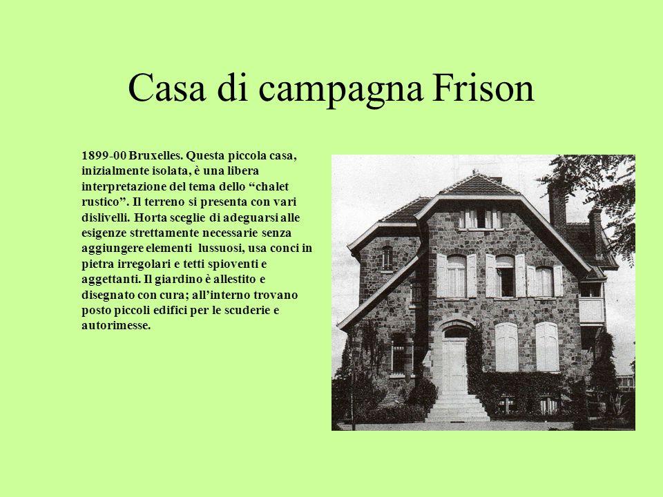 Casa di campagna Frison