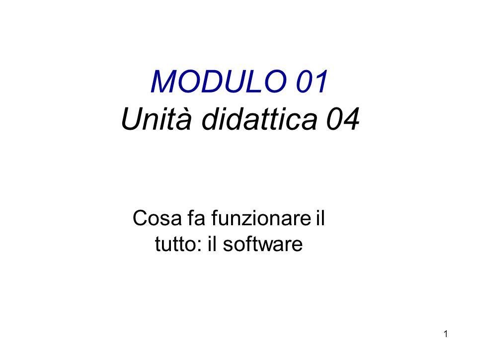MODULO 01 Unità didattica 04