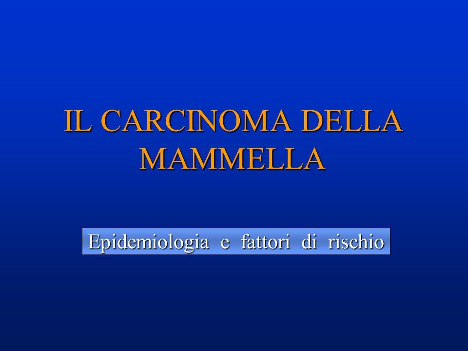 IL CARCINOMA DELLA MAMMELLA