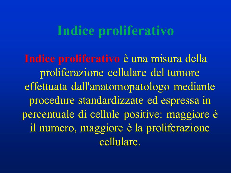 Indice proliferativo